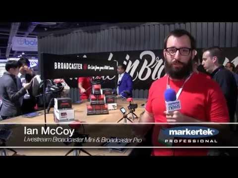 Livestream Broadcaster Mini & Broadcaster Pro