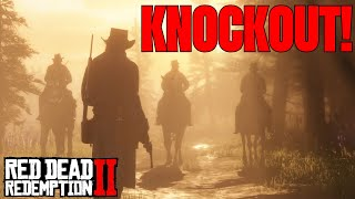 Cowboy Knockout - Kicked in the face, Red Dead Redemption 2 | Birdalert (CLIP)
