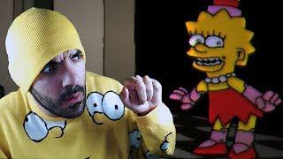 LOS SIMPSON ANIMATRÓNICOS - Fun Times at Homer's