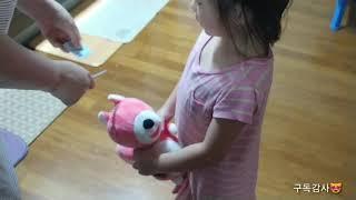 핑크 다람쥐인형 2021역시 핑크가 대세