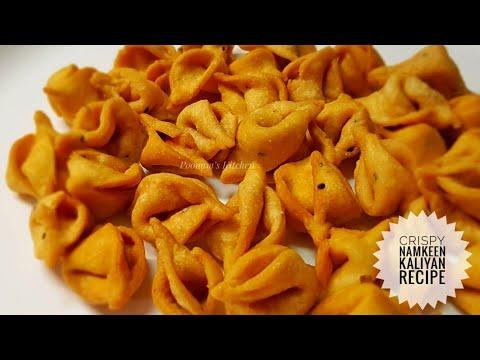 Crispy Snacks Recipe/ Namkeen Recipe - Namkeen Kaliyan Recipe - Diwali Recipe/ Tea Time Recipe