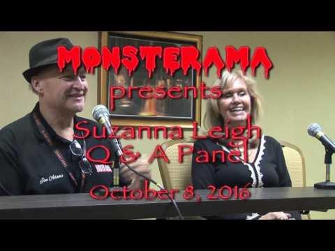 Suzanna Leigh Q & A Panel Monsterama October 8, 2016