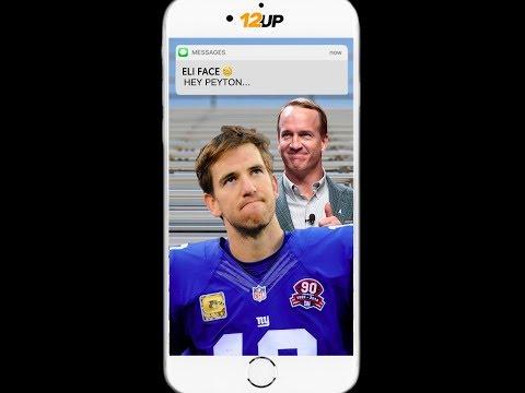 Peyton Manning Texts Eli After Giants Benching