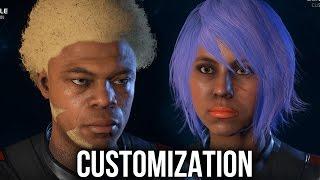 Mass Effect Andromeda - CHARACTER CUSTOMIZATION