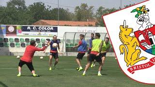 Portugal 2015: Bristol City Training In Guia
