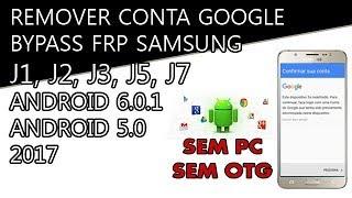 Desbloquear Remover Conta Google Samsung J5 J1 J2 J3 J7 / Remove Google Account Bypass FRP