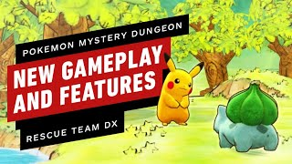 YouTube動画:Pokemon Mystery Dungeon: Rescue Team DX - New Gameplay and Features Explained