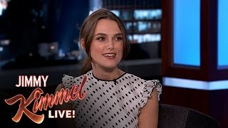 Keira Knightley on Getting the Disney Treatment