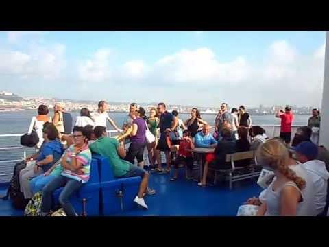 Tyrrhenian sea...Golfo di Napoli.