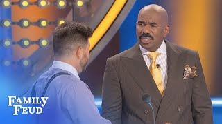 Heyy BABY, I got your NUMBER! | Family Feud