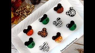 Halloween and Fall Mickey Cookies