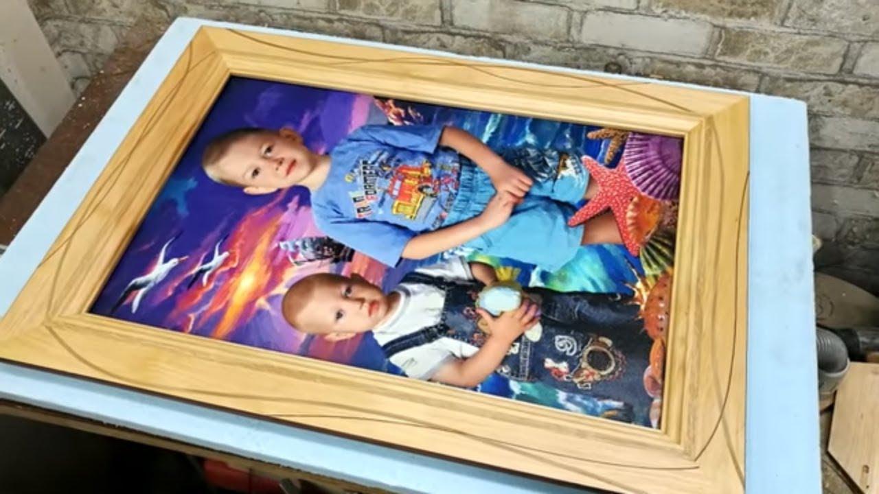 Большая рамка для фотографии 2/2. Big frame for photo part 2/2
