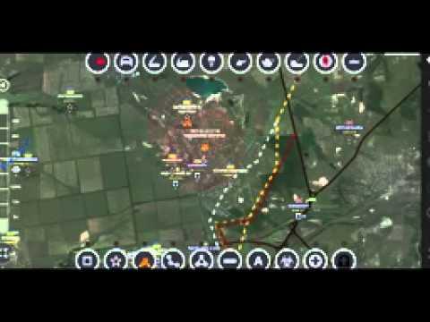 Сводки Новороссии, карта