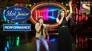 Nirvesh And Shruti Deliver A Powerful Performance | Indian Idol Junior