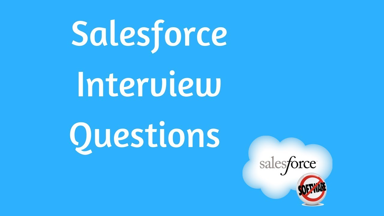 Salesforce Interview Question and Answers : What is an