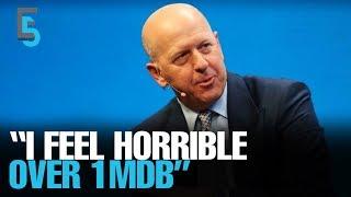 EVENING 5: Goldman Sachs CEO distressed over 1MDB
