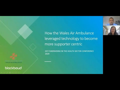 How the Wales Air Ambulance leveraged technology to become more supporter centric