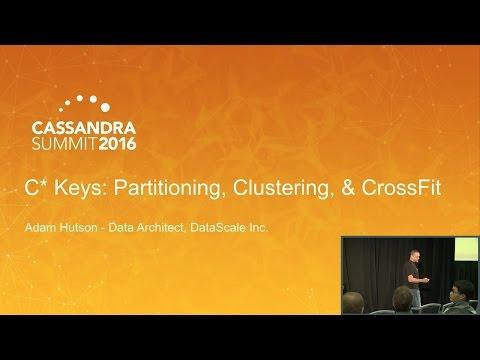 C* Keys: Partitioning, Clustering, & CrossFit (Adam Hutson, DataScale)   Cassandra Summit 2016