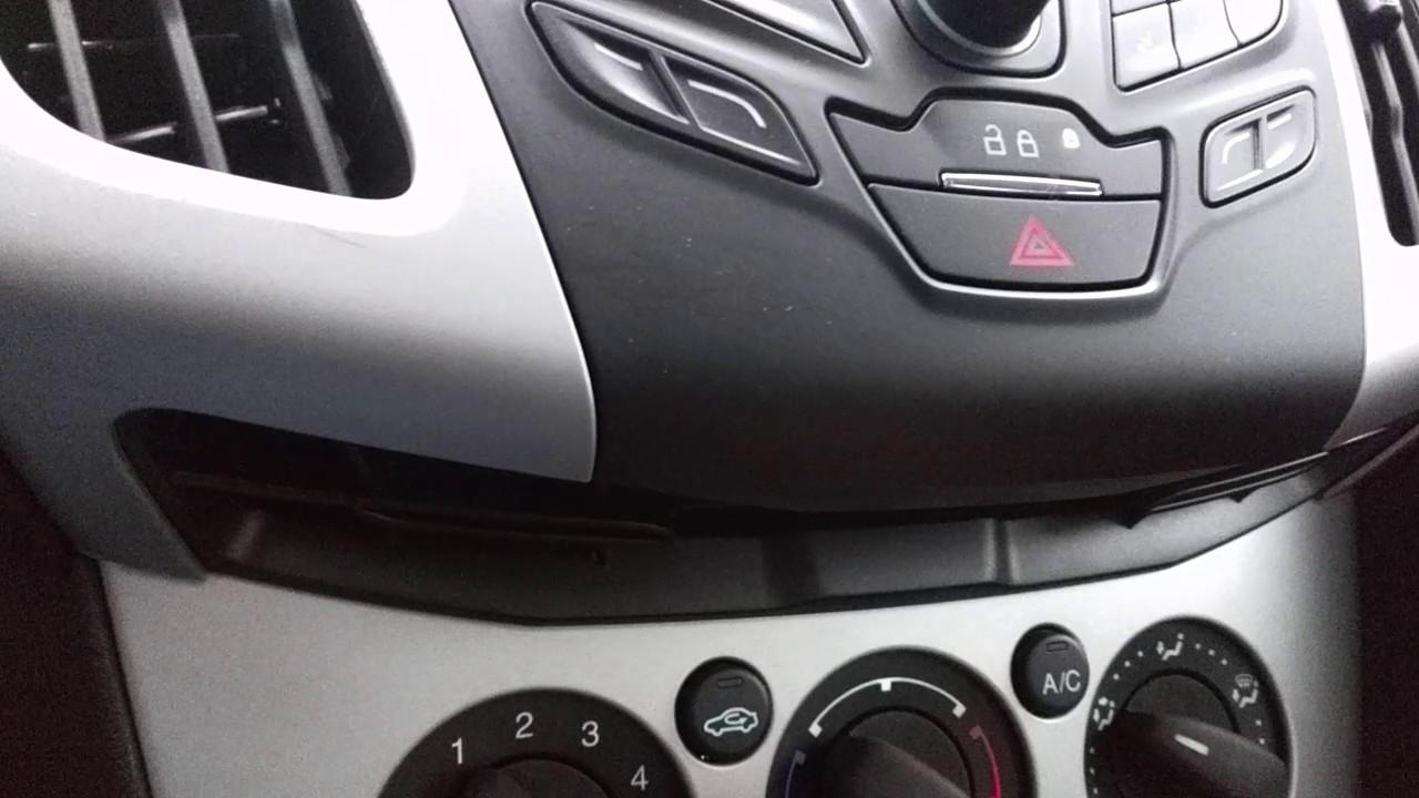 Ford Focus Dashboard Ticking 1