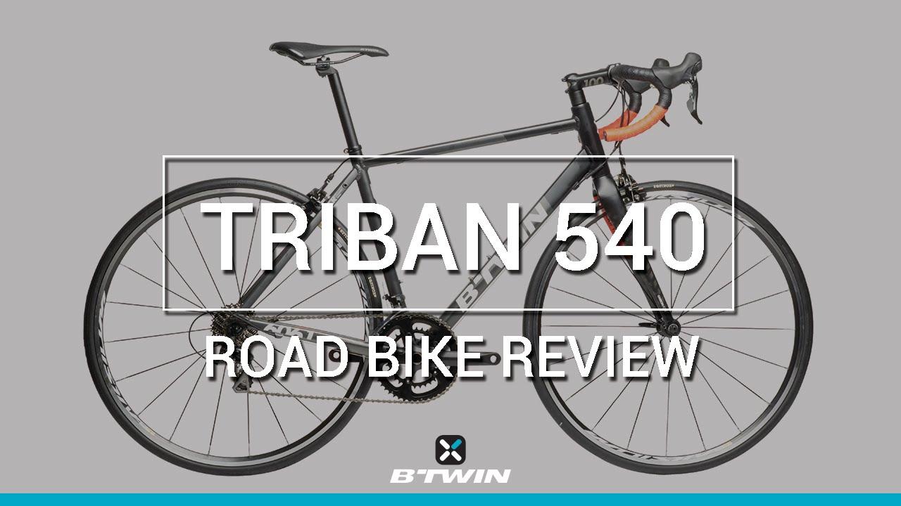VELO DE ROUTE 540 B'TWIN / ROAD BIKE TRIBAN 540 - B'TWIN