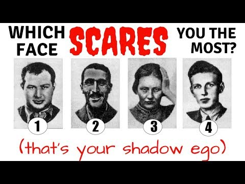 Personality test to discover your shadow ego