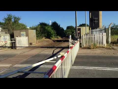 Avonmouth Dock Junction Level Crossing (Bristol) Saturday 30.06.2018