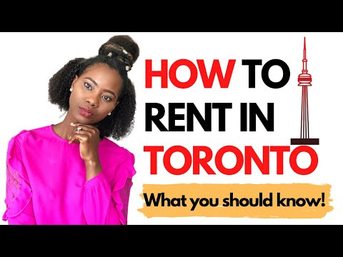 HOW TO RENT IN TORONTO| TORONTO REAL ESTATE| RENTING TIPS