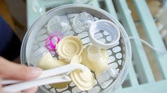 Dương Vân: Đập hộp máy tiệt trùng và sấy khô bình sữa Fatz Baby FB4913km