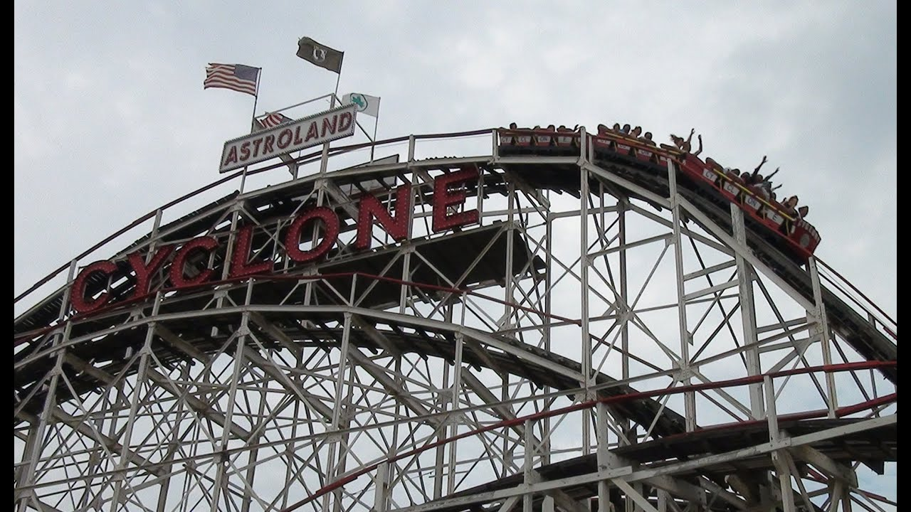 Coney Island New York City with Theme Park Review! - YouTube