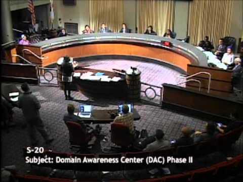 November 19, 2013 Oakland City Council Meeting - Domain Awareness Center (DAC) item.