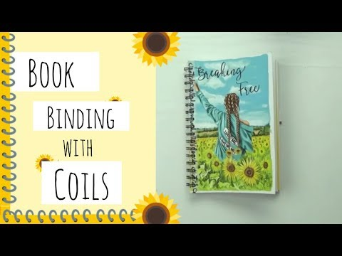 Book Binding with Coils