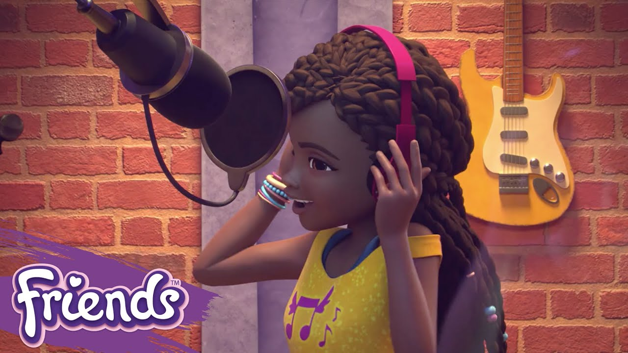 Meet Andrea in her Music Studio – LEGO® Friends