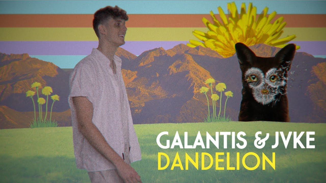 Galantis & JVKE - Dandelion [Official Lyric Video]
