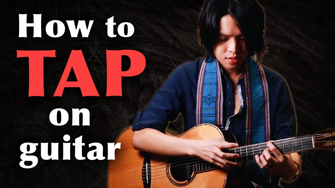 How to Tap on Acoustic Guitar (It's SIMPLER than it looks!)