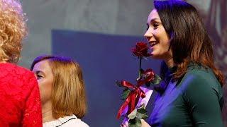 Laureaci nagrody prezydenta Olsztyna za 2017 rok - statuetka św. Jakuba