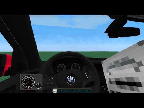 Minecraft Forge Race Cars Mod