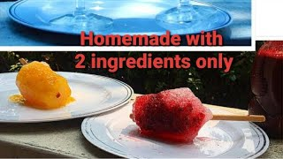2 Ingredient only Shaved Ice - Barf ka Gola - Easy