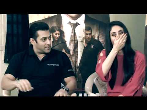 Superstar Salman Khan  Kareena Kapoor - Bodyguard - Exclusive Interview **HD Video**