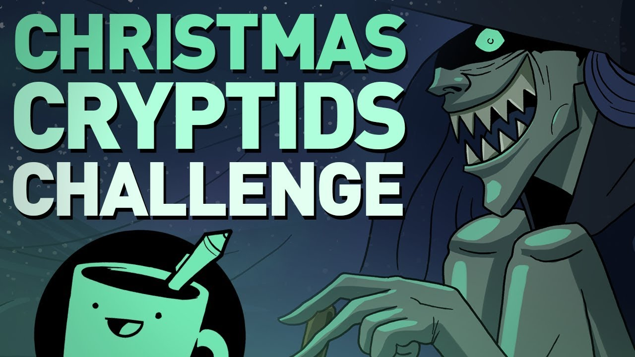 christmas-cryptids-drawing-challenge