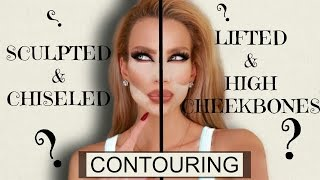 FAKE IT ! LOSE 5 Lbs or CHEEK FILLERS Contouring Tutorial