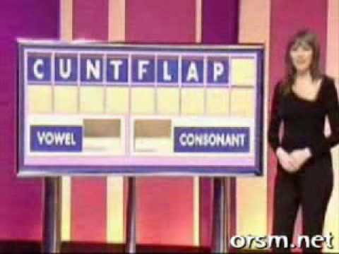 Countdown classic, Vorderman laughing at fannys
