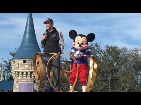 4K Super Bowl LII Parade w/Eagles MVP Nick Foles From Magic Kingdom