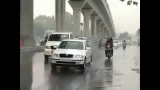 Rain in Delhi brings respite from scorching heat