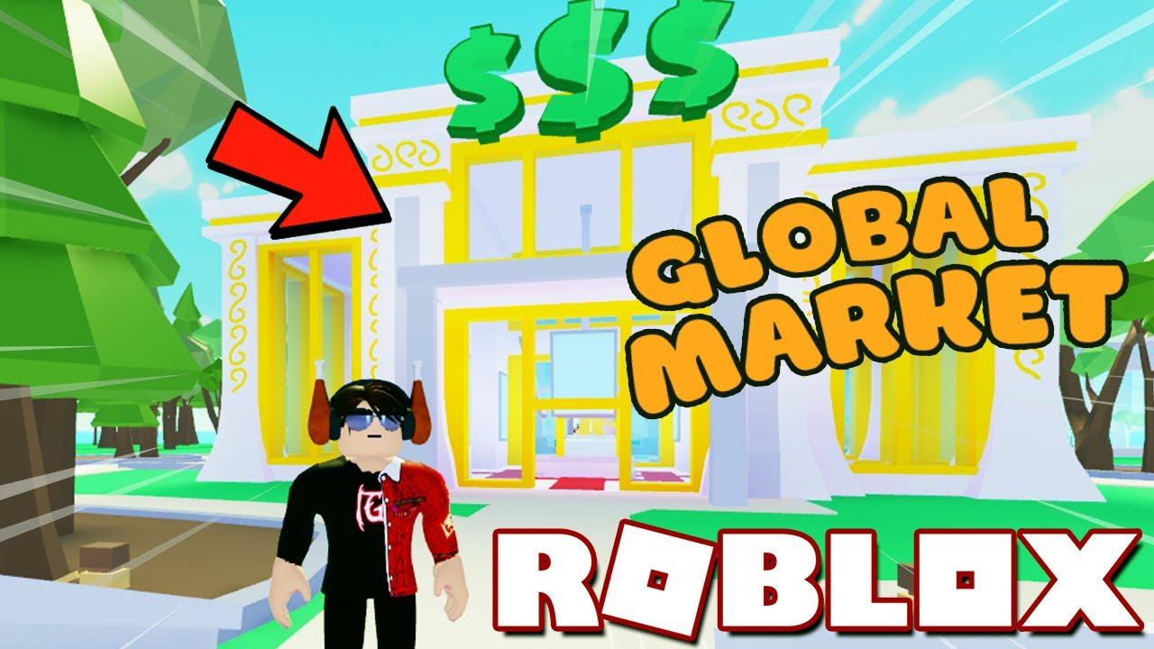 CÔNG TRÌNH MỚI GLOBAL MARKET TRONG CẬP NHẬT SẮP TỚI ! | My Restaurant! (Roblox)