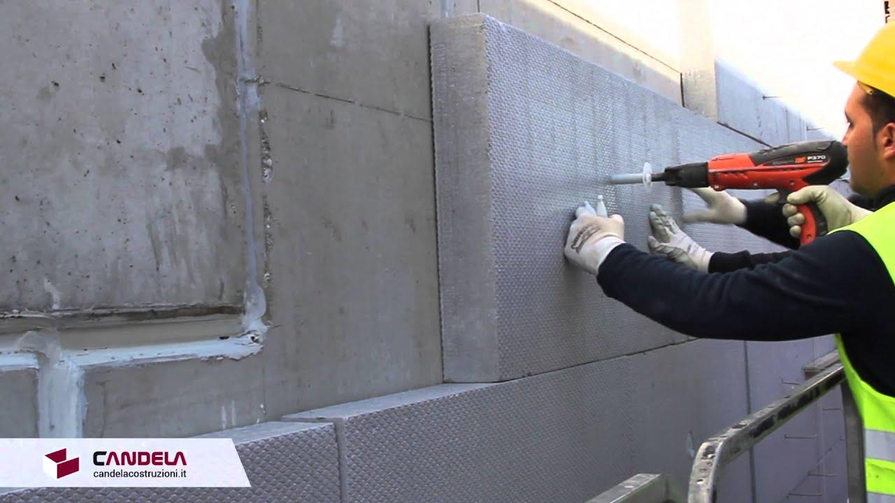 Fissaggio del pannello isolante - facciate ventilate in mattoni a vista - YouTube