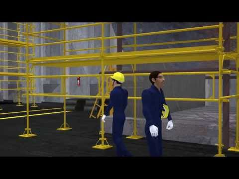 Animated Safety Training: Near Miss - Helmet