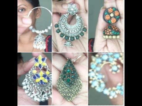 My favourite earrings ||my jewelry collection ||my indian earrings