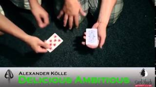 Saturn Magic -Delicious Ambitious by Alexander Kolle and Card-Shark - Trick