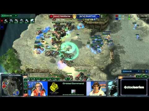 StarCraft 2 - Showtime vs. Marine 2/2 - EPS Finals Germany Winter 2014