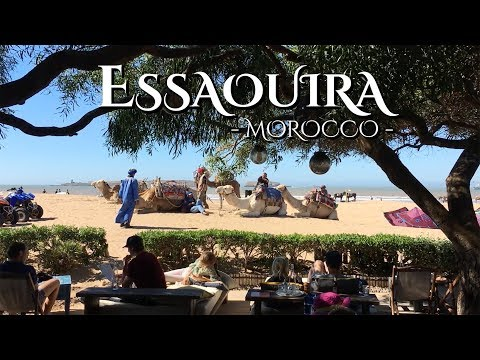 One day in Essaouira, Morocco